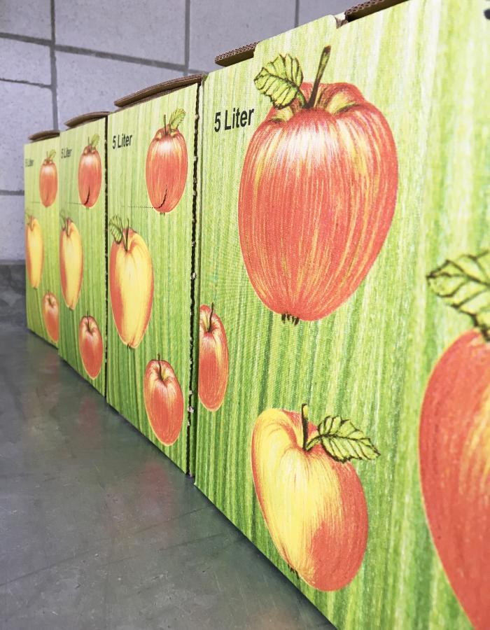 So wird aus Äpfeln Apfelsaft