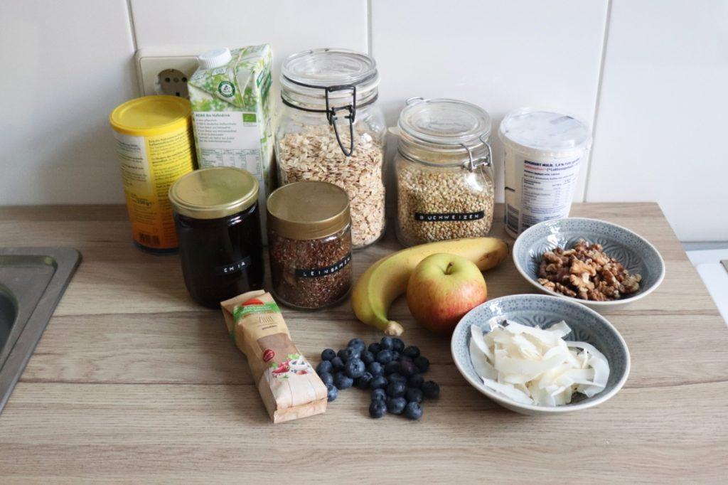 Bircher-Müsli Inhaltsstoffe