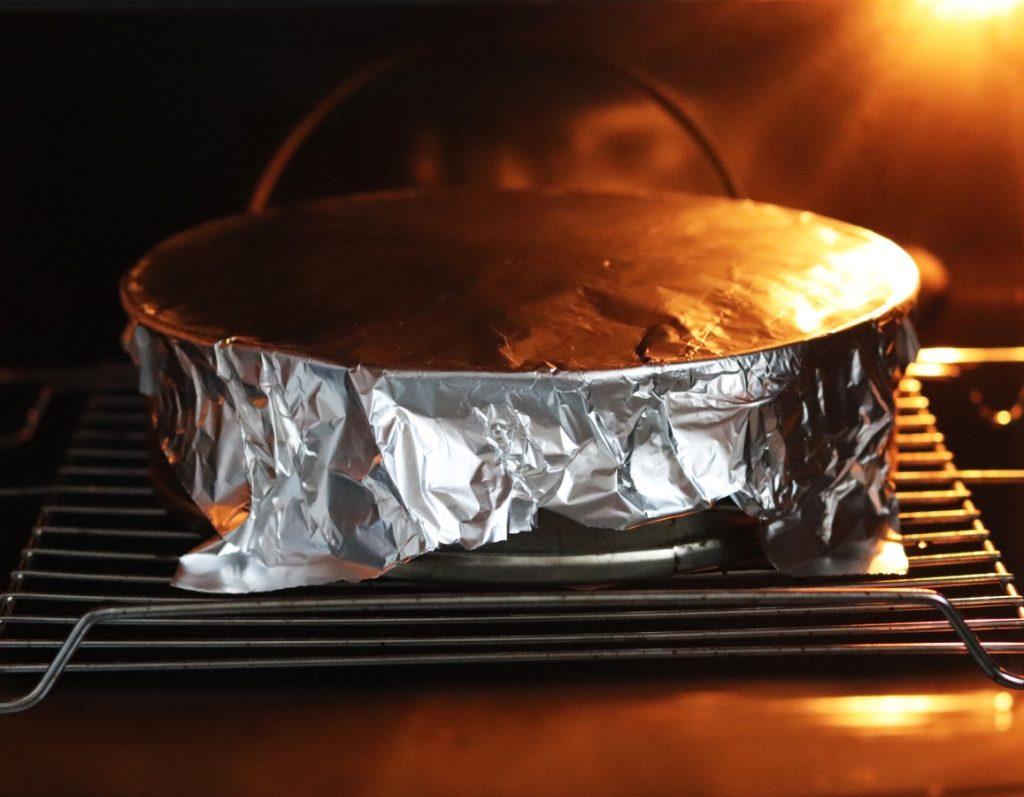 Kuchen im Ofen backen