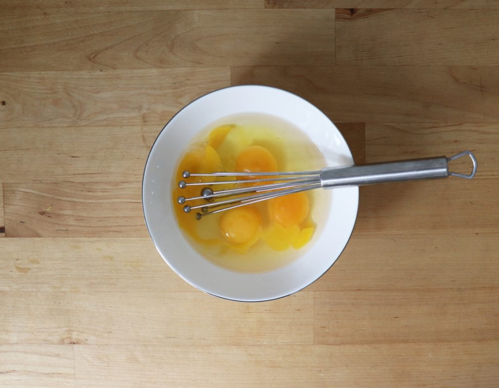 Eier glatt rühren
