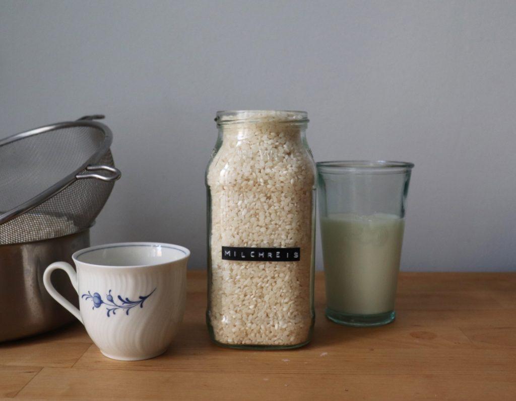 Reis, Milch, Vanillemark