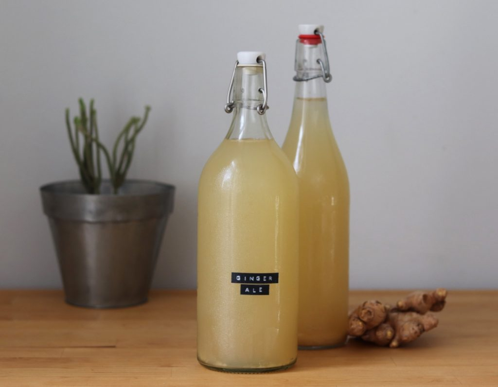 DIY Ginger Ale