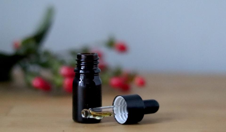 Gesichtsöl mit Hagebutte und Traubenkernöl