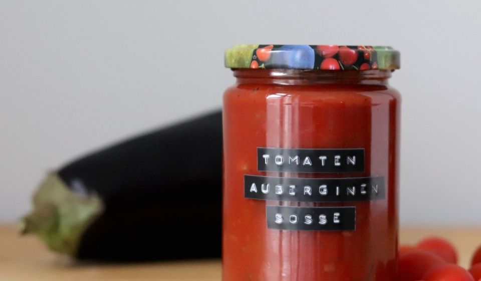 Tomatensoße mit Auberginen