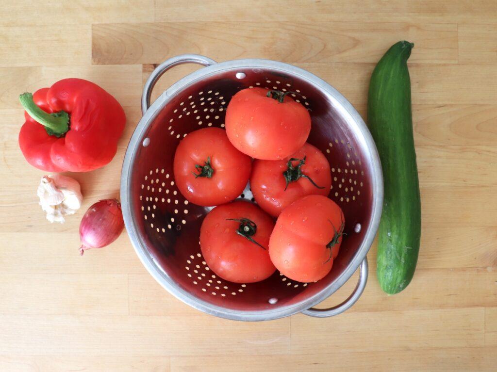 Gemüse, Chili und Knoblauch