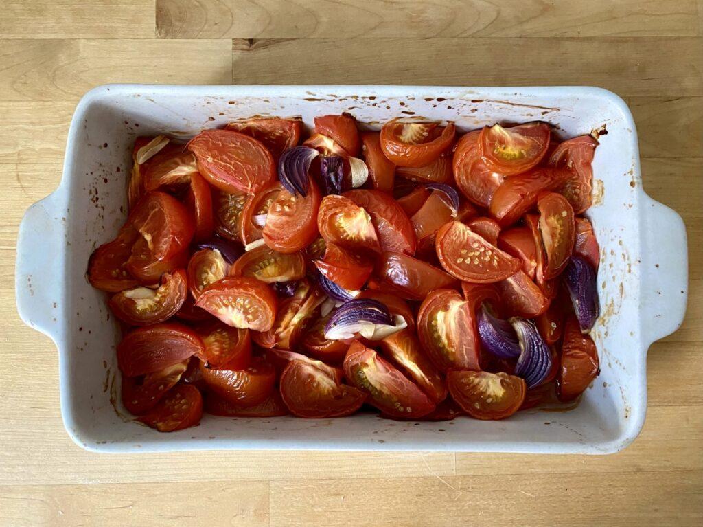 Gemüse im Ofen anrösten